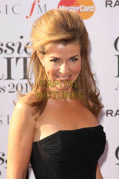 ANNE-SOPHIE MUTTER .Arriving to the Classical Brit Awards 2011 at the Royal Albert Hall, London, England, UK, 12th May 2011..arrivals brits portrait headshot  strapless black smiling .CAP/AH.©Adam Houghton/Capital Pictures.
