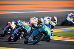 VALENCIA, SPAIN - NOVEMBER 11: Joan Mir during Valencia MotoGP 2016 at Ricardo Tormo Circuit on November 11, 2016 in Valencia, Spain