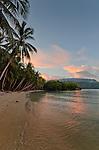 White sand beach, Om Brum Island, Triton Bay, Papua