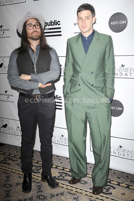 WWW.ACEPIXS.COM . . . . . .March 21, 2013...New York City....Sean Lennon and Mark Ronson attend the 2013 Amy Winehouse Foundation Inspiration Awards and Gala at The Waldorf  Astoria on March 21, 2013 in New York City ....Please byline: KRISTIN CALLAHAN - ACEPIXS.COM.. . . . . . ..Ace Pictures, Inc: ..tel: (212) 243 8787 or (646) 769 0430..e-mail: info@acepixs.com..web: http://www.acepixs.com .