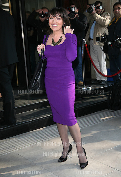 Lorraine Kelly attending The TRIC Awards at The Grosvenor House Hotel, London. 08/03/2011 Picture by: Alexandra Glen / Featureflash