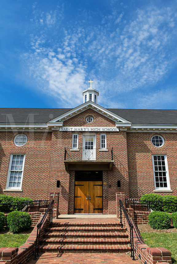 St. Mary's High School, Annapolis, Maryland, USA