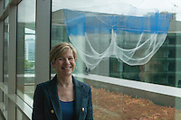 CEO Susan Desmond-Hellmann at the Bill and Melinda Gates Foundation in Seattle, Washington, USA on Wednesday, 3 June 2015. (Matt Mills McKnight for Le Monde)