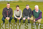 GOLF: Enjoying the Tralee golf club foursomes at the Barrow course on Sunday l-r: Gerry Ryan, Dan Lucey, John O'Brien and Jerry Moloney...