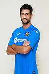 Getafe CF's Markel Bergara during the session of the official photos for the 2017/2018 season. September 19,2017. (ALTERPHOTOS/Acero)