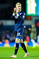 Leeds United's Will Huffer applauds the fans after the match<br /> <br /> Photographer Alex Dodd/CameraSport<br /> <br /> The EFL Sky Bet Championship - Leeds United v Bristol City - Saturday 24th November 2018 - Elland Road - Leeds<br /> <br /> World Copyright &copy; 2018 CameraSport. All rights reserved. 43 Linden Ave. Countesthorpe. Leicester. England. LE8 5PG - Tel: +44 (0) 116 277 4147 - admin@camerasport.com - www.camerasport.com