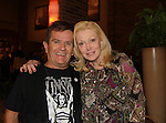 Butch Patrick & Cathy Moriarty (SoapDish & Raging Bull) pose at Chiller Theatre's Spring Spooktacular on the weekend of April 27-29 at the Hilton Parsippany in Parsippany, New Jersey. (Photo by Sue Coflin/Max Photos)