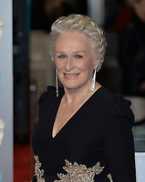 LONDON, UK - FEBRUARY 10: Glenn Close at the 72nd British Academy Film Awards held at Albert Hall on February 10, 2019 in London, United Kingdom. <br /> CAP/MPIIS<br /> ©MPIIS/Capital Pictures