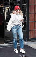 www.acepixs.com<br /> <br /> February 1 2017, New York City<br /> <br /> Actress Busy Philipps leaves a downtown hotel on February 1 2017 in New York City<br /> <br /> By Line: Curtis Means/ACE Pictures<br /> <br /> <br /> ACE Pictures Inc<br /> Tel: 6467670430<br /> Email: info@acepixs.com<br /> www.acepixs.com