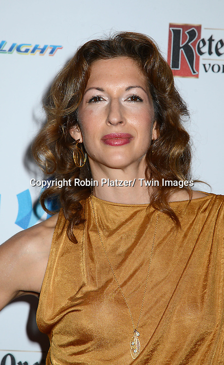 Alysia Reiner the 25th Annual GLAAD Media Awards at the Waldorf Astoria Hotel in New York City, NY on May 3, 2014.