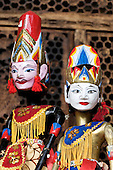 Indonesian Golek Puppets
