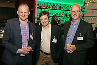 Pictured from left is Ian Baxter of Baxter Freight, Nick Gretton of Secantor and Steve Goodman, Team of Equals
