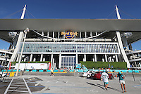 General View on the 25th September 2016 at  the Hard Rock Stadium Miami Florida