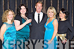 Noreen Griffin, Linda Tucker, Jason Dixon, Tracey Smyth, and Amanda O'Rourke pictured at the charity Ball at the Ballygarry house hotel on New Years eve.