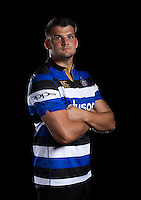 David Sisi poses for a portrait at a Bath Rugby photocall. Bath Rugby Media Day on August 24, 2016 at Farleigh House in Bath, England. Photo by: Rogan Thomson / JMP / Onside Images
