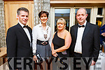 Denis McQuire, Mayor of Kerry, Cllr: Norma Foley, Clare Harty and Liam Brick attending the Enable Ireland Diamond Ball in the Ballygarry House Hotel on Saturday.