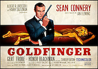 BNPS.co.uk (01202 558833)<br /> Pic: IAA/BNPS<br /> <br /> ***Please Use Full Byline***<br /> <br /> Poster from 1964 release of Goldfinger.<br /> <br /> Film star Sean Connery made a series of vain demands to ensure he received top billing in all advertising for hit James Bond film Goldfinger, a rarely seen document has revealed.<br /> <br /> Connery was already a worldwide star when he reprieved the role of British spy Bond in the 1964 film, the third film of the Bond series.<br /> <br /> To guarantee his fame would continue to snowball, Connery demanded star billing in all promotional material prior to the film's release.<br /> <br /> In a contract drawn up on the Scottish actor's behalf he insisted that his name must appear at least 25 per cent bigger than - and on a separate line to - the name of any other cast member on posters and ads for the film.<br /> <br /> Connery, 34 at the time, also stipulated any image of him had to appear much bigger than any of the film's other stars, including Honor Blackman, Shirley Eaton and Gert Frobe.<br /> <br /> The contract is tipped to fetch 1,000 pounds when it goes under the hammer at an International Autograph Auctions sale in London on Saturday.