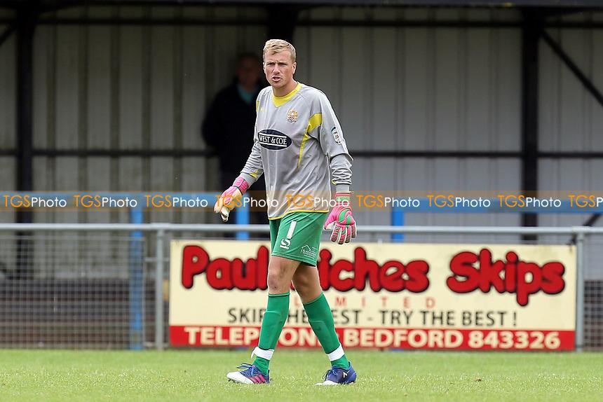 Elliot Justham of Dagenham during Bedford Town vs Dagenham & Redbridge, Friendly Match Football at The Eyrie on 15th July 2017