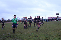 Epping Upper Clapton RFC vs Romford & Gidea Park RFC, London 2 North East Division Rugby Union at Upland Road on 6th January 2018