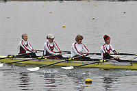 036 MarlowRC W.MasC.4x‐..Marlow Regatta Committee Thames Valley Trial Head. 1900m at Dorney Lake/Eton College Rowing Centre, Dorney, Buckinghamshire. Sunday 29 January 2012. Run over three divisions.