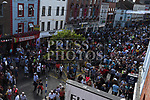 The large crowd on West St. for Fleadh Ceoil na hEireann. Photo:Colin Bell/pressphotos.ie