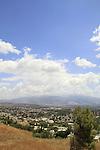 Israel, Upper Galilee, a view of Kiryat Shmona