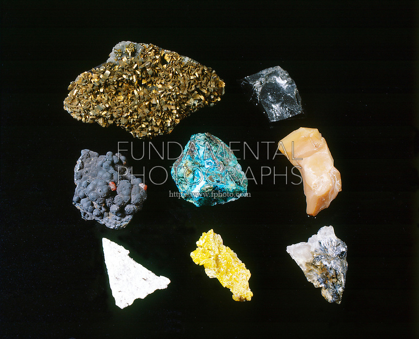 METALLIC &amp; NON-METALLIC MINERAL LUSTER<br />