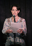 Judy Kuhn performing at the Seth Rudetsky Book Launch Party for 'Seth's Broadway Diary' at Don't Tell Mama Cabaret on October 22, 2014 in New York City.