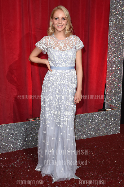 Eden Taylor Draper at The British Soap Awards at The Lowry in Manchester, UK. <br /> 03 June  2017<br /> Picture: Steve Vas/Featureflash/SilverHub 0208 004 5359 sales@silverhubmedia.com