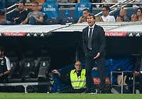 Julen Lopetegui of Real Madrid during the match between Real Madrid v Cd Leganes of LaLiga, 2018-2019 season, date 3. Santiago Bernabeu Stadium. Madrid, Spain - 1 September 2018. Mandatory credit: Ana Marcos / PRESSINPHOTO