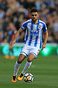 30th September 2017, The John Smiths Stadium, Huddersfield, England; EPL Premier League football, Huddersfield Town versus Tottenham Hotspur; Tommy Smith of Huddersfield Town runs with the ball