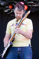 Eddy Current Suppression Ring performing at the Big Day Out festival, Flemington Racecourse, Melbourne, 26 January 2009