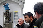 Louisiana Governor Bobby Jindal in Cedar Rapids, Iowa (USA)