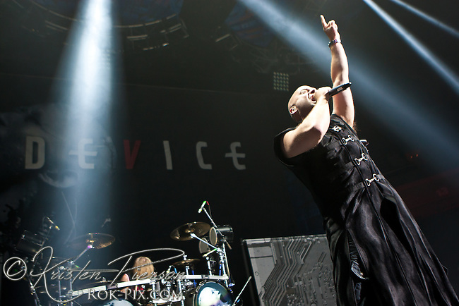 Device perform at Gigantour 2013 at Mohegan Sun July 5 2013