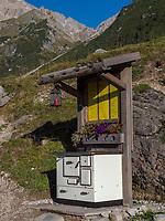 Hochimst Obermarkter Alm Blick auf vorderer Plattein Lechtaler Alpen, Imst, Tirol, &Ouml;sterreich, Europa<br /> Obermarkter Alm,, Hochimst, Imst, Tyrol, Austria, Europe