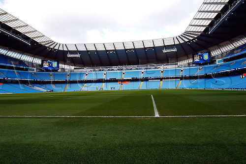05.03.2016. The Etihad, Manchester, England. Barclays Premier League. Manchester City versus Aston Villa. A general view inside the stadium