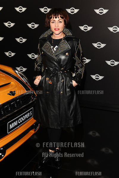 Jaime Winstone arriving for the World Premiere Of The New MINI at The Old Sorting Office, London. 18/11/2013 Picture by: Steve Vas / Featureflash