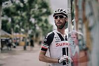 Laurens ten Dam (NED/Sunweb) in the Village Départ pre-race<br /> <br /> 104th Tour de France 2017<br /> Stage 10 - Périgueux › Bergerac (178km)
