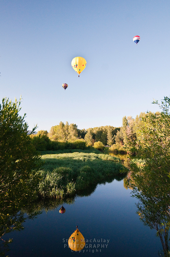 Hot Air Ballon Rally, Steamboat Springs, Colorado