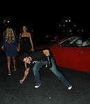 Brody Jenner drops cell phone after leaving club.les deux in hollywood.