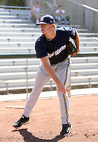 Cody Adams / Helena Brewers..Photo by:  Bill Mitchell/Four Seam Images