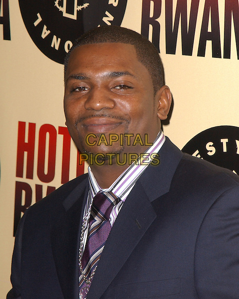 "MEKHI PHIFER.Los Angeles Premiere of ""Hotel Rwanda"" held at The Academy Theatre in Beverly Hills, California.December 2nd, 2004.headshot, portrait, goatee, facial hair.www.capitalpictures.com.sales@capitalpictures.com.Supplied by Capital Pictures."