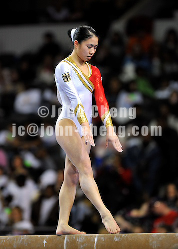 02/21/09 - Photo by John Cheng for USA Gymnatics.  Tyson American Cup takes place at the Sears Centre Arena in Chicago.