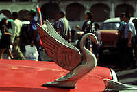 Hood Ornament, Taxi, Outside The Capitol Building, Havana, Cuba