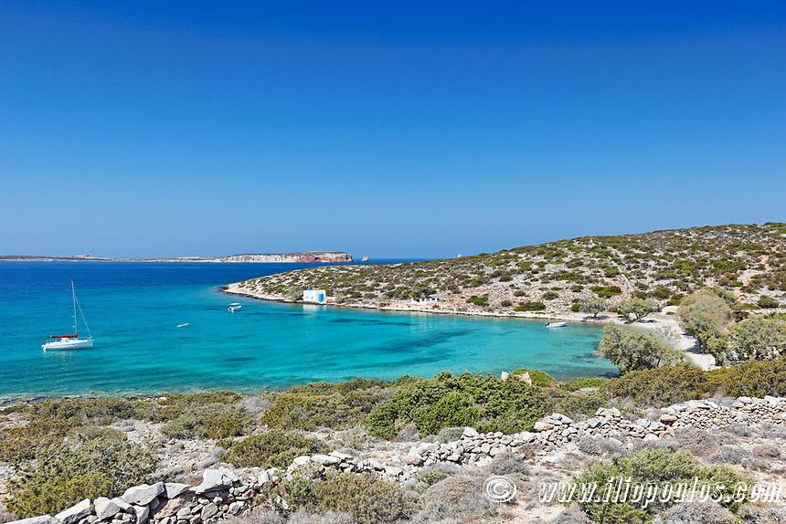 Agia Irini beach in Paros island, Greece