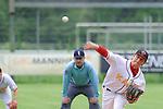 Mannheims Wesley Grilliette beim Wurfbeim Spiel in der 1. Bundesliga Baseball, Mannheim Tornados - Legionaere Regensburg.<br /> <br /> Foto &copy; Rhein-Neckar-Picture *** Foto ist honorarpflichtig! *** Auf Anfrage in hoeherer Qualitaet/Aufloesung. Belegexemplar erbeten. Veroeffentlichung ausschliesslich fuer journalistisch-publizistische Zwecke. For editorial use only.
