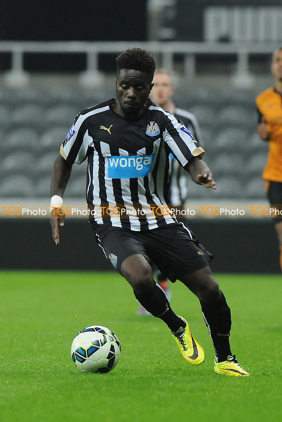 Gael Bigirimana of Newcastle United - Newcastle United Under-21 vs Wolverhampton Wanderers Under-21 - Barclays Under-21 Premier League Football at St James' Park, Newcastle upon Tyne - 15/09/14 - MANDATORY CREDIT: Steven White/TGSPHOTO - Self billing applies where appropriate - contact@tgsphoto.co.uk - NO UNPAID USE