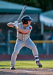 29 August 2019: Connecticut Tigers designated hitter Jake Holton in action against the Vermont Lake Monsters at Centennial Field in Burlington, Vermont. The Tigers defeated the Lake Monsters 6-2 in the first game of their NY Penn League double-header.  Mandatory Credit: Ed Wolfstein Photo *** RAW (NEF) Image File Available ***