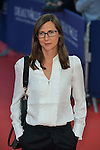 Sophie Barthes arrives at the 'Mr Holmes' Premiere red carpet during the 41st Deauville American Film Festival on September 10, 2015 in Deauville, France