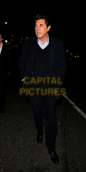 BRYAN FERRY.The Jalouse club launch, Jalouse nightclub, Hanover Square, London, England..October 8th, 2008.full length black jacket sweater .CAP/CAN.©Can Nguyen/Capital Pictures.